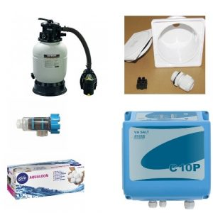 Filter Kit Set A mit Saltinator