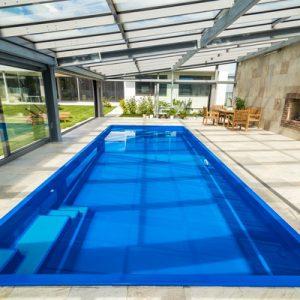 Glass-Composite-Pool - Coral - Gemini