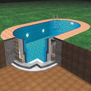 Ibiza Pools - Oval