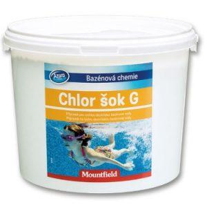 Azuro Shock Chlorgranulat - 3 kg