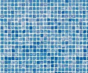 Poolfolie Mosaik Azur