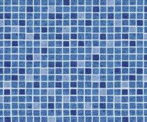 Freilufttraum Poolfolie AVfol Decor Mosaik Blau