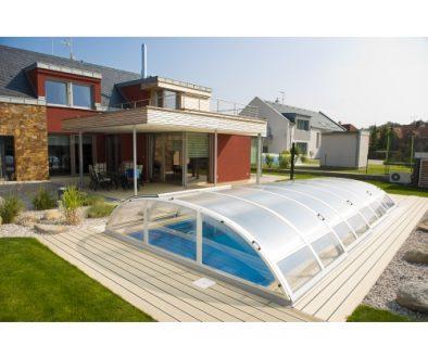 Freilufttraum Poolüberabdeckung Poolüberdachung Schwimmbadabdeckung