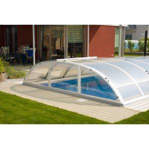 Freilufttraum Poolüberdachung COMPACT 4-430 inkl. Seitentür