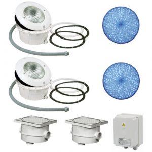 Scheinwerfer Paket 6 LED-RGB