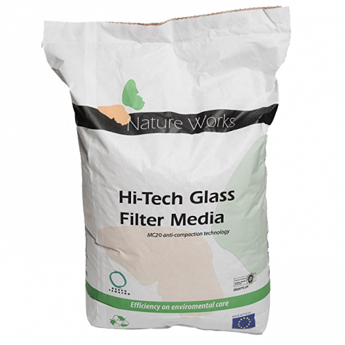 Glasfiltermedium